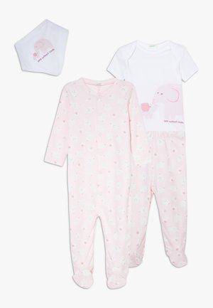 NEWBORN SET - Pyžamová sada - light pink