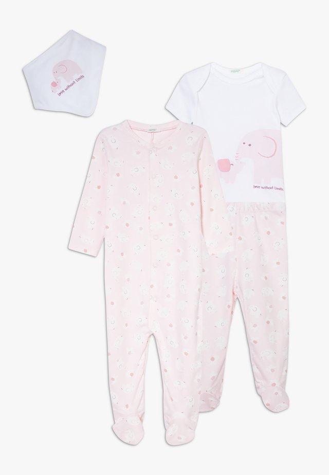 NEWBORN SET - Pyjamas - light pink