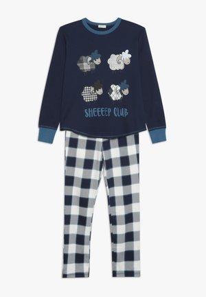 Pijama - dark blue/white