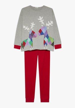 Pijama - grey/red