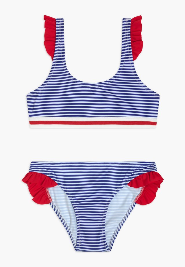 Bikini - blue/white/red