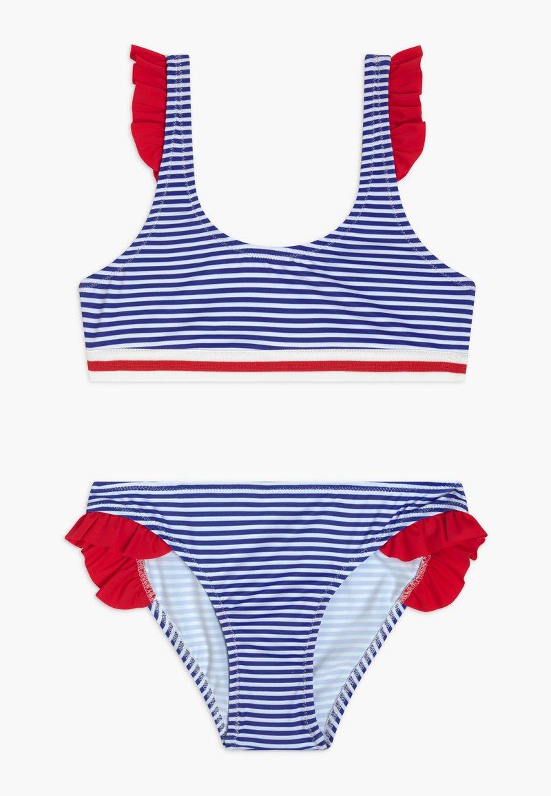 Benetton - Bikini - blue/white/red