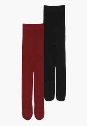 2 PACK  - Collants - red/blue