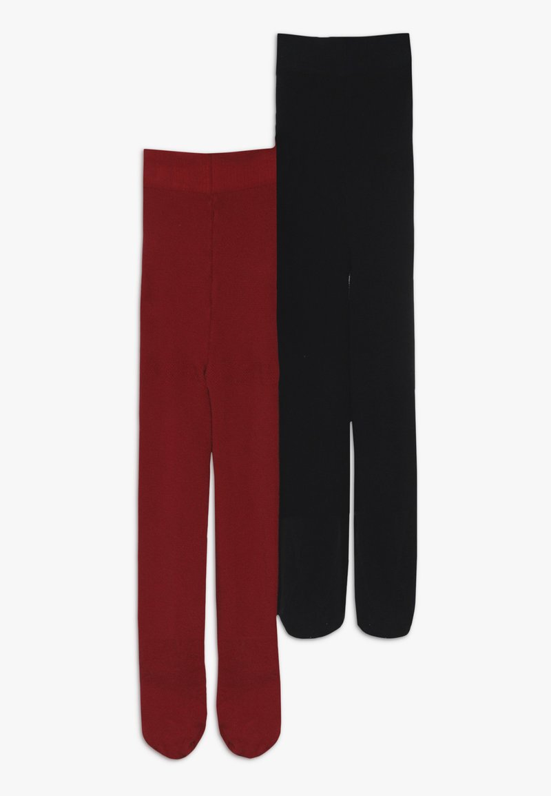 Benetton - 2 PACK  - Tights - red/blue