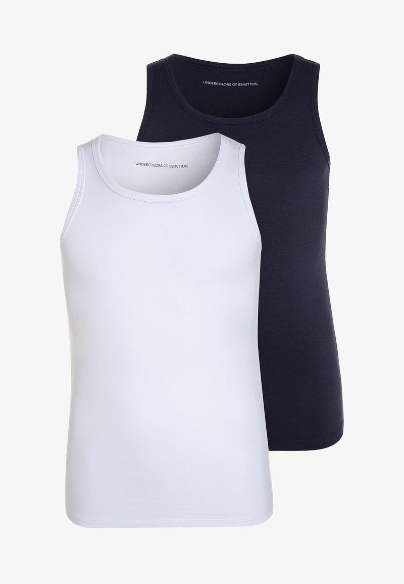 Benetton - 2 PACK - Camiseta interior - dark blue