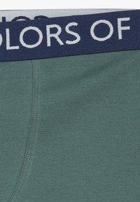 Benetton - 2 PACK - Pants - dark blue, dark blue - 4
