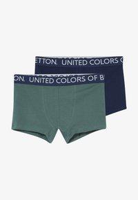 Benetton - 2 PACK - Pants - dark blue, dark blue - 3