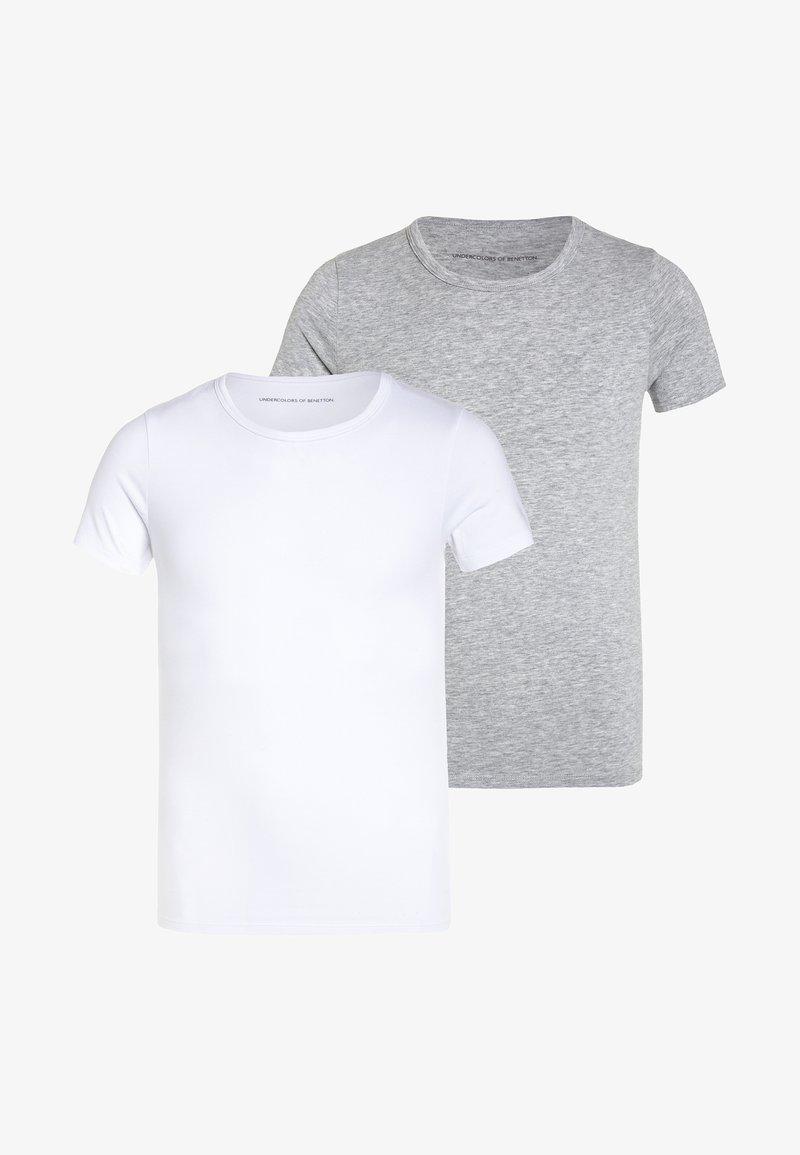 Benetton - 2 PACK - Unterhemd/-shirt - grey