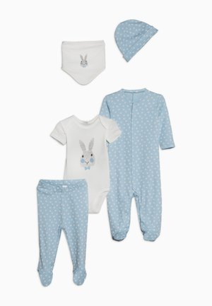 NEWBORN SET - Pyžamová sada - light blue