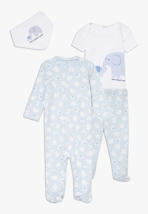NEWBORN SET - Pyjamas - light blue
