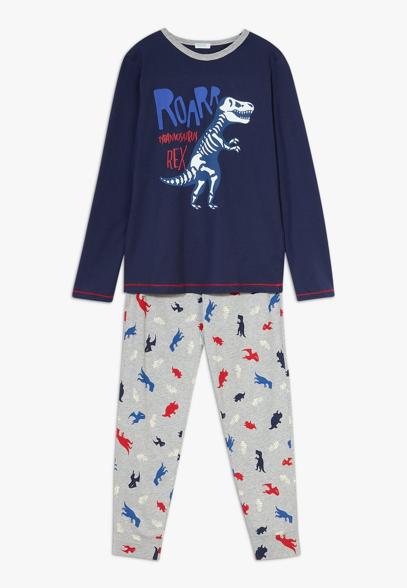 Benetton - SET - Pijama - dark blue