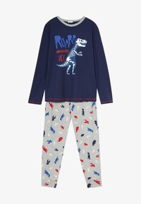 Benetton - SET - Pijama - dark blue - 4
