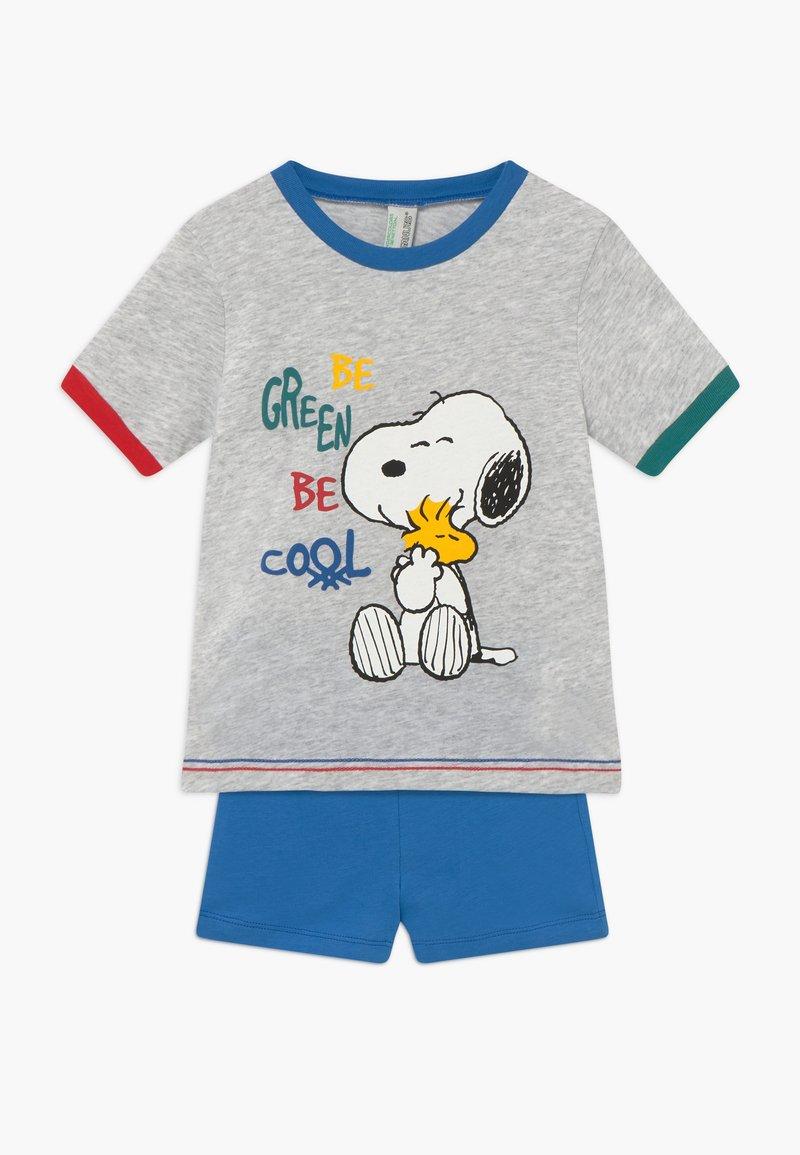 Benetton - PYJAMA T-SHIRT SHORT - Pijama - grey