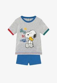 Benetton - PYJAMA T-SHIRT SHORT - Pijama - grey - 3