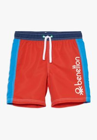Benetton - SWIM TRUNKS - Uimashortsit - red - 0