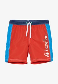 Benetton - SWIM TRUNKS - Uimashortsit - red - 3