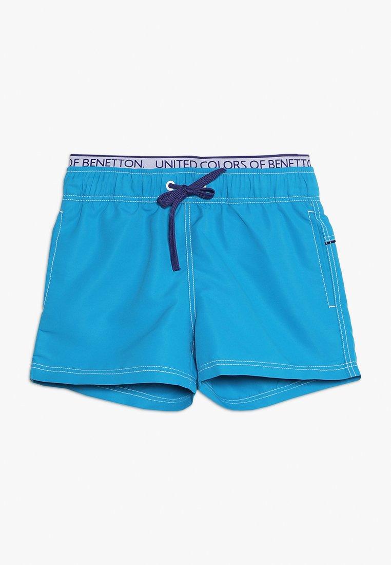 Benetton - SWIM TRUNKS - Badeshorts - blue