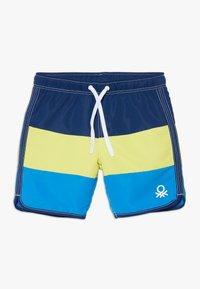 Benetton - SWIM TRUNKS - Shorts da mare - blue - 0