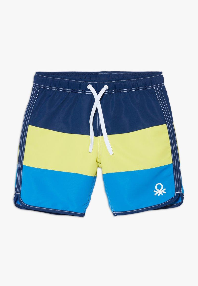 Benetton - SWIM TRUNKS - Shorts da mare - blue