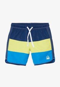 Benetton - SWIM TRUNKS - Shorts da mare - blue - 3