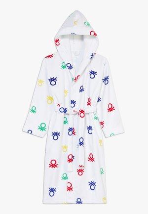 BATH GOWN - Dressing gown - white