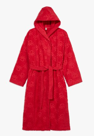 BATH GOWN - Dressing gown - red