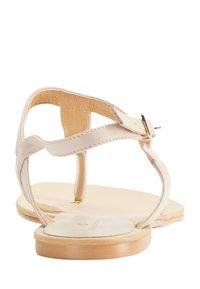 DreiMaster - DREIMASTER  - T-bar sandals - taupe - 4