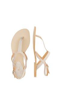 DreiMaster - DREIMASTER  - T-bar sandals - taupe - 2