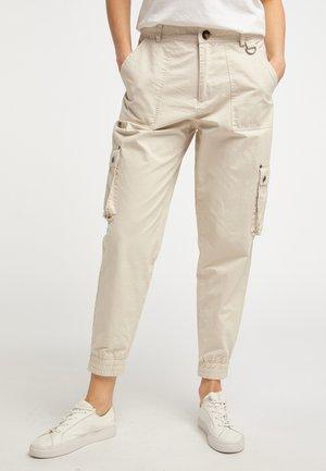 Kalhoty - creme