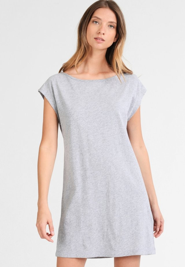 Dreimaster Kleid - Trikoomekko - grau melange
