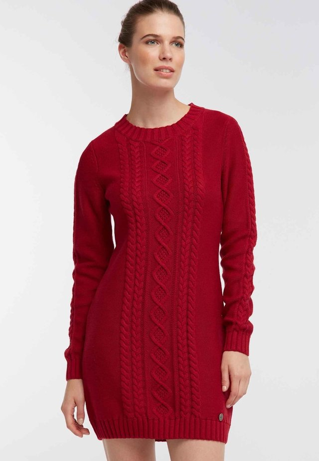 Robe pull - dark red