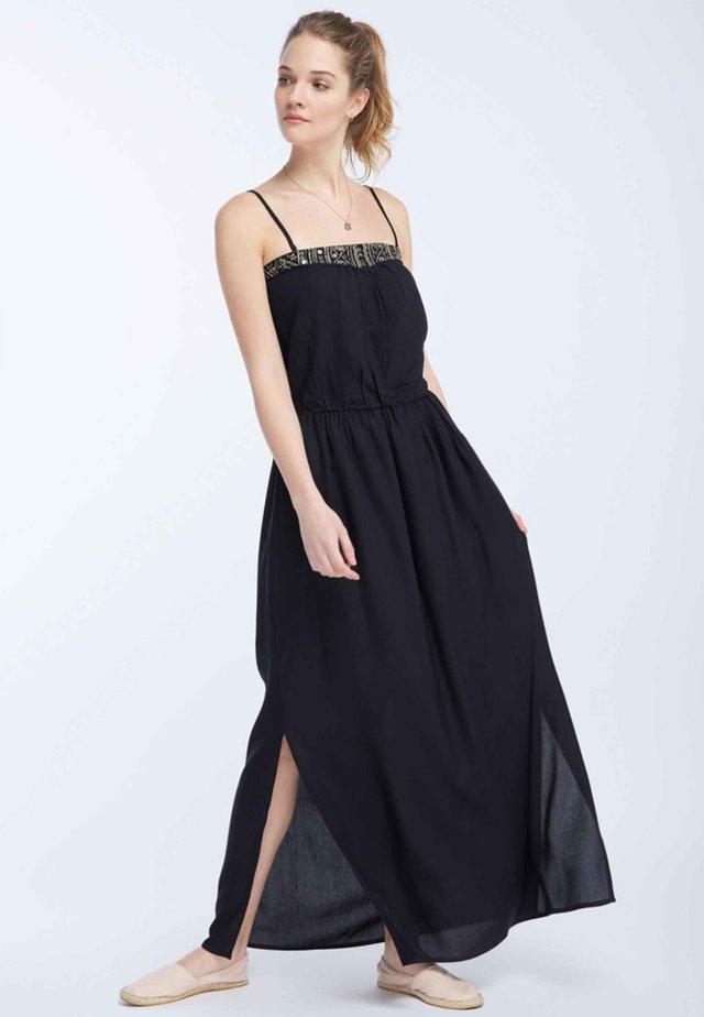 Długa sukienka - marine
