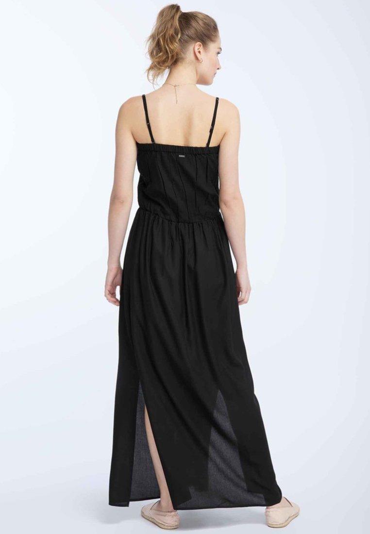 DreiMaster Długa sukienka - black
