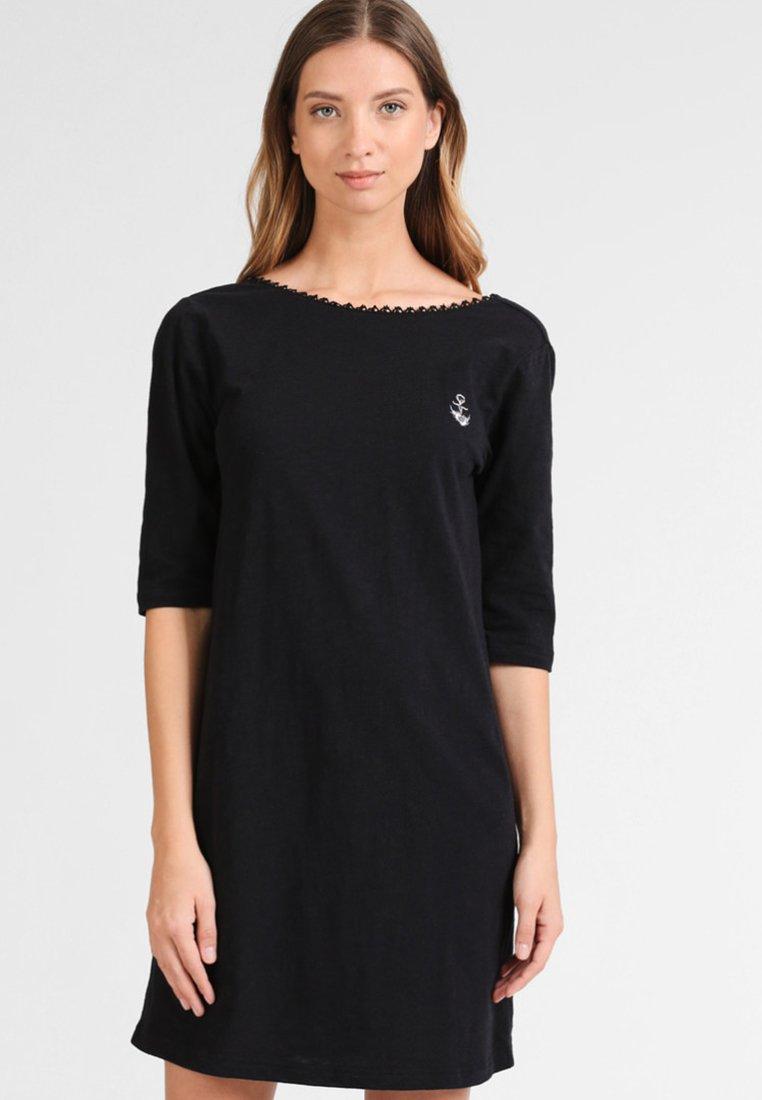 Dreimaster - Jerseykleid - black