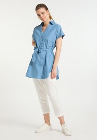 DreiMaster - Denim dress - blau - 1