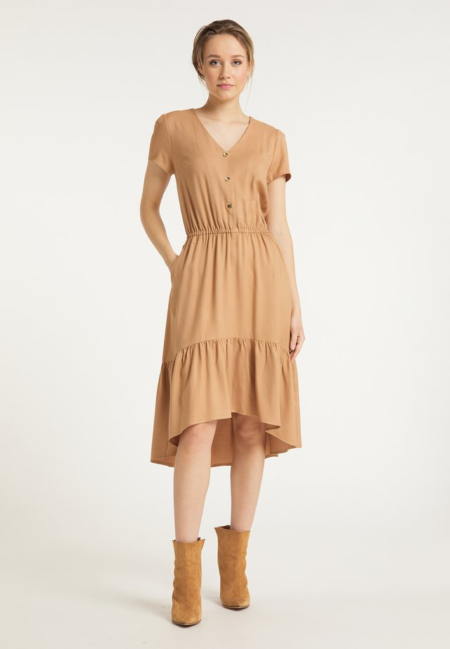 DREIMASTER BLUSENKLEID - Shirt dress - beige