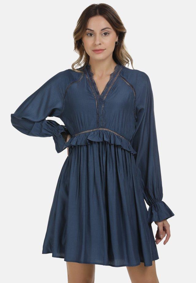 Sukienka letnia - denim blue