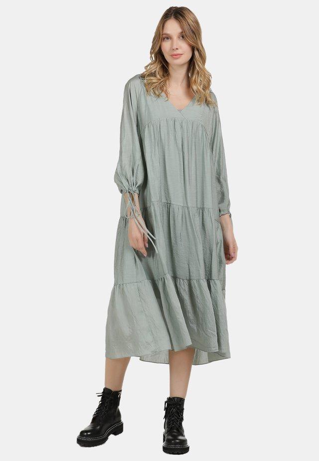 Korte jurk - minze