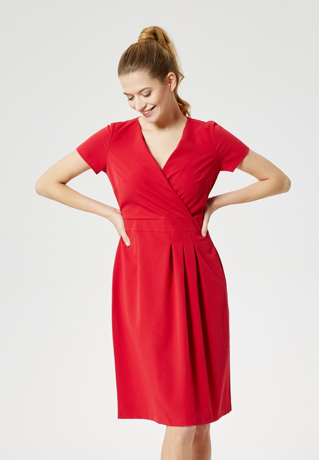 Sukienka letnia - rot