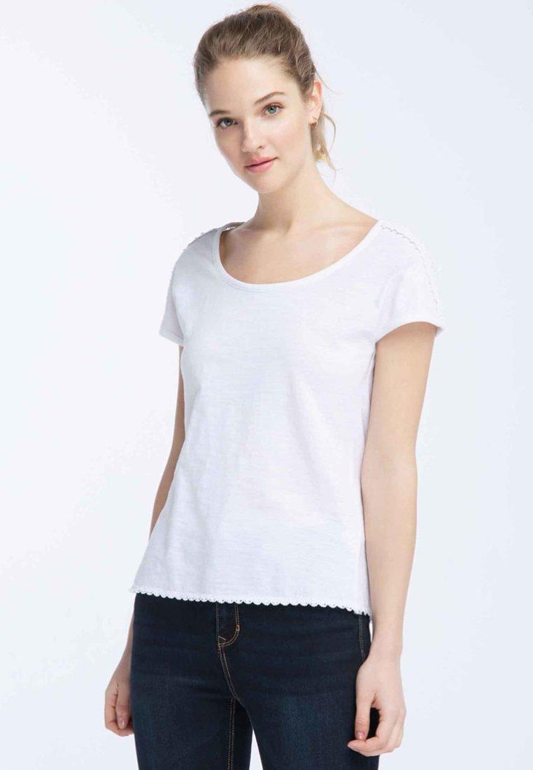Dreimaster - T-shirt imprimé - white