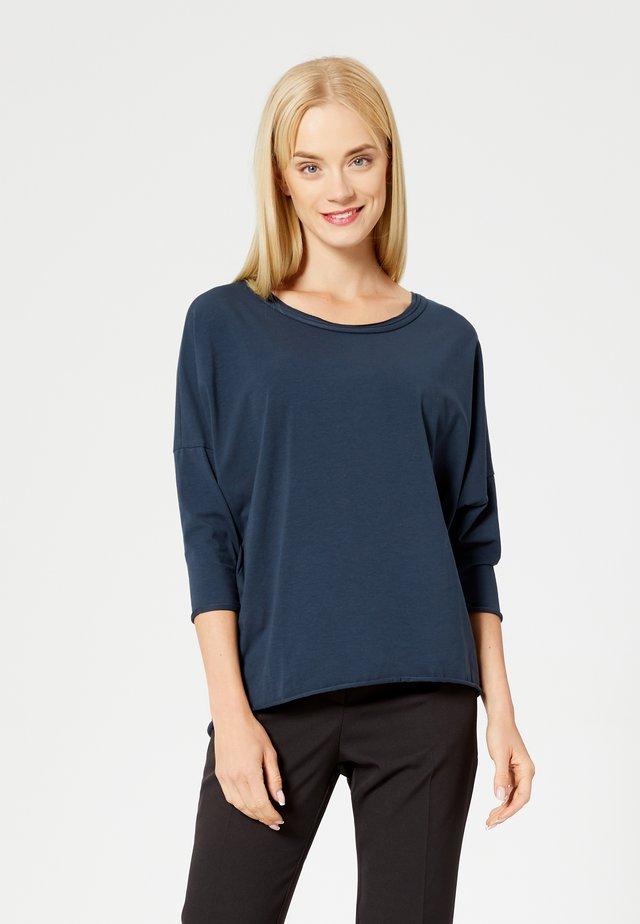 Pitkähihainen paita - blueberry