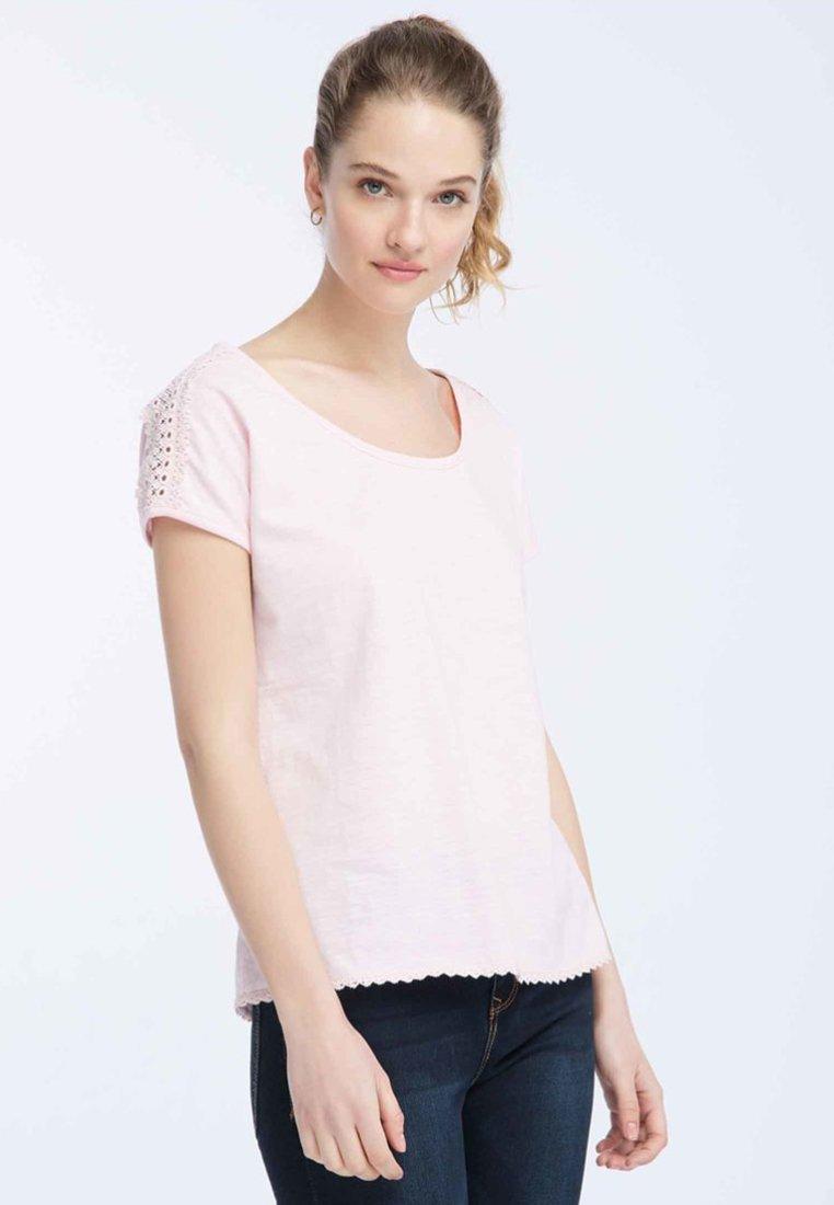 Dreimaster - T-Shirt print - rose