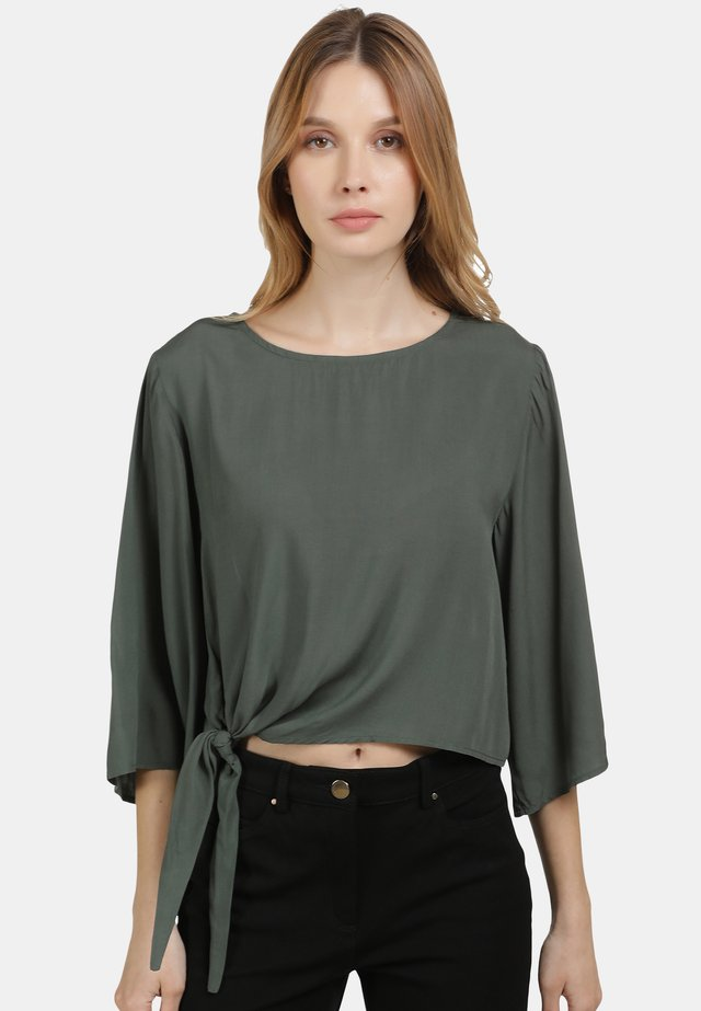 Blouse - military green
