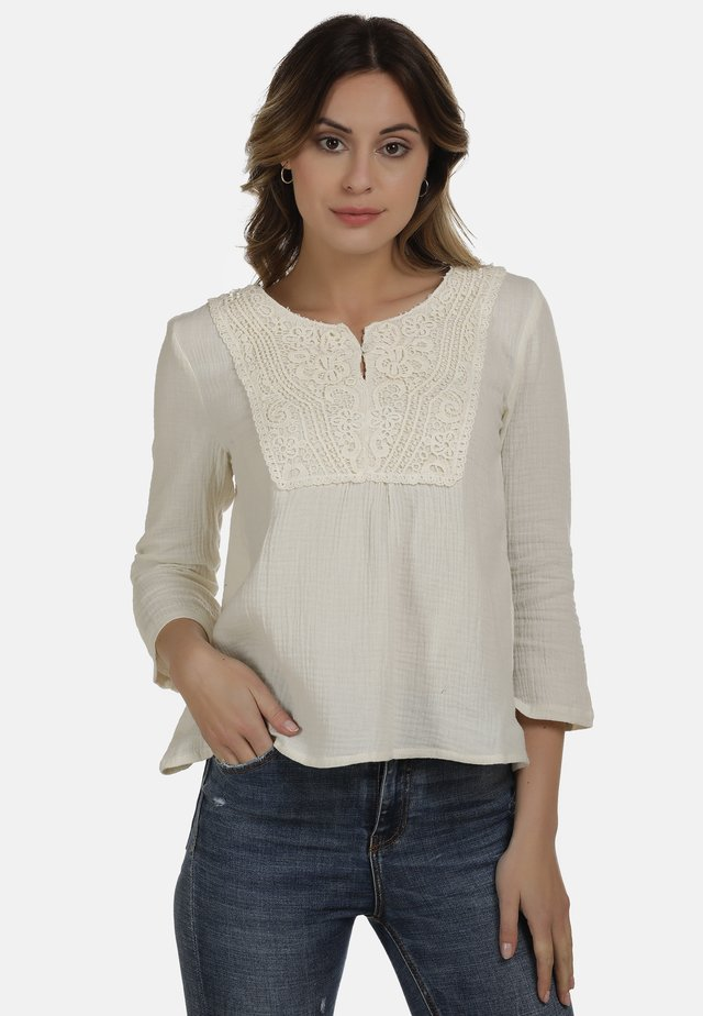 DREIMASTER BLUSE - Blouse - off-white