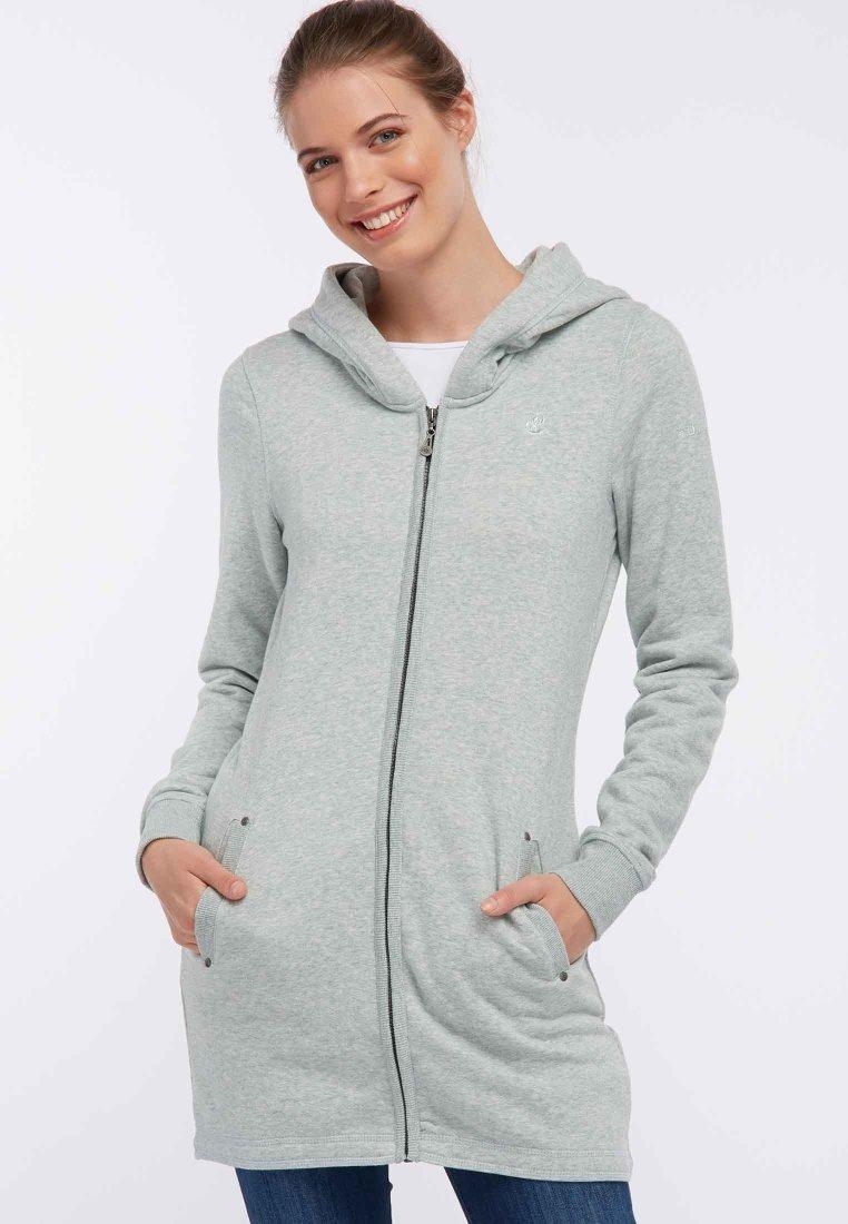 Dreimaster - Zip-up hoodie - mint melange