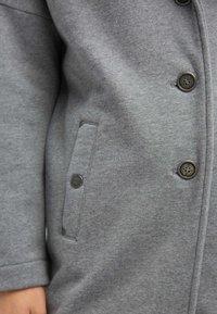 DreiMaster - Wollmantel/klassischer Mantel - grey melange - 3
