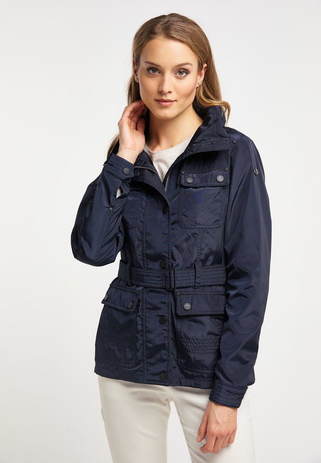 Outdoor jacket - marine