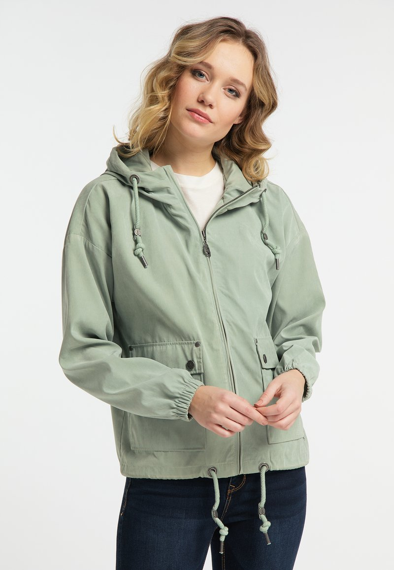 DreiMaster - Light jacket - smoke mint