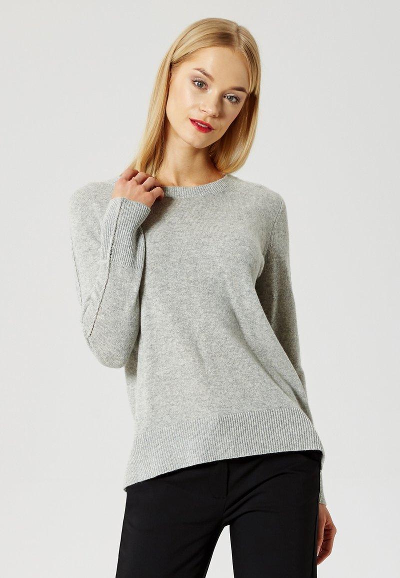 DreiMaster - Sweter - grey