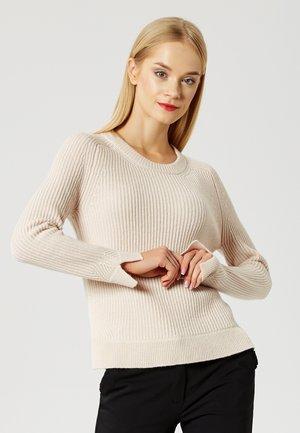 Jersey de punto - light beige